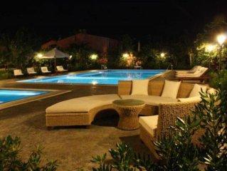 Ville Eden sul mare, piscina adulti + piscina bimbi riscaldata, idromassaggio