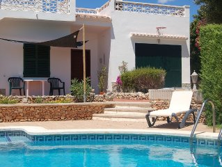 Charming Detached Villa With Private Pool And Beautiful Sunset Terrace Views