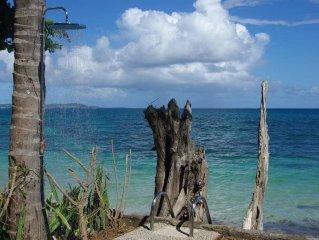 Le paradis en bord de mer: villa les pieds dans l'eau
