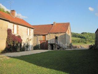 Cote d'Or, Burgundy, Character Cottage, Village edge Ivry-en-Montagne,