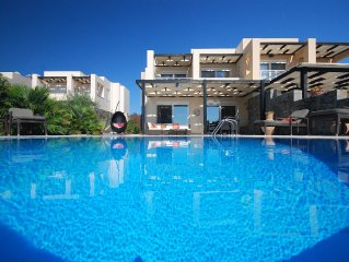 Luxury Contemporary Villa with own Pool, Sea and Beach Views, close to Lindos!