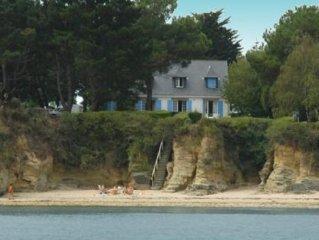 Grande maison en front de mer Maison avec jardin 10 personnes