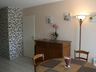 Apt. T2 33m2 for 4 people (+ 1bebe), near downtown Le Cannet