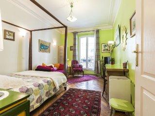 Appartement au coeur de Paris   L' Opera et Montmartre.