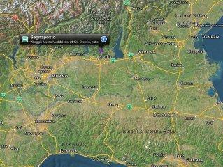 #Villa 'totally silence' nel Parco delle Colline di #Brescia #Gardasee