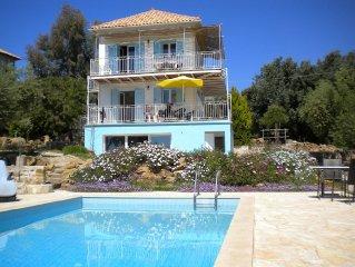 Duplex avec piscine et vue mer panoramique exceptionnelle