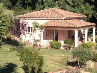 Villa avec vue sur le golfe du Valinco