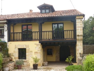 3 BDR Cottage in prestine Cantabria