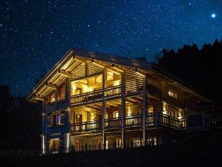 Chalet Celeste 290m2 luxe, ski aux pieds et vue magnifique