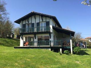 Maison familiale proche Bidart et Biarritz 8 personnes