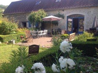 Longere renovee dans un village de Picardie a 40 minutes de Paris