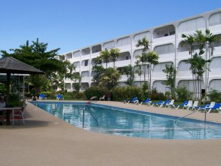 Quality ground floor apartment, platinum west coast, Holetown, Barbados