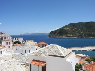 Spacious and Beautiful Town House Skopelos - Amazing Sea Views