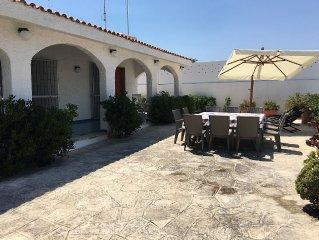 villa on the beach in Porto Cesareo