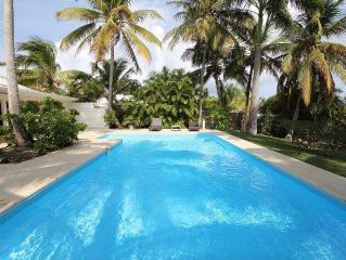The ROYAL PALM TREE Villa with swimming pool
