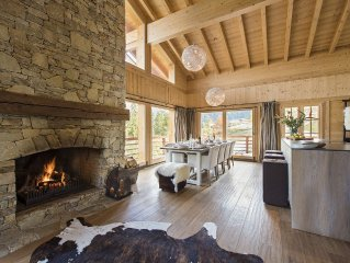 Luxurious chalet for 10/12 - Verbier 4 Valleys with 10% off skipass & skischool