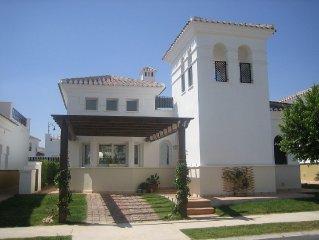 Superb 2 Bedroom Detached Villa With WIFI & British TV On 5* Golf/Family Resort