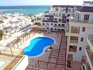 3 Bedroomed, Beach Front Luxury Apartment, With Large Communal Pool