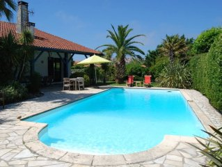 Charming traditional Basque house with private garden and swiming pool.