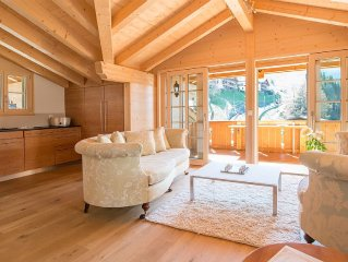 5 Star Penthouse Apartment In Central Wengen