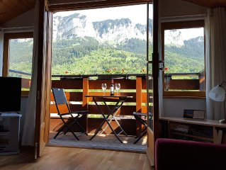 Penthouse Apart, 2 bed-2 bath-3 balcony - Wi-Fi - Great Lake View Walking/Skiing