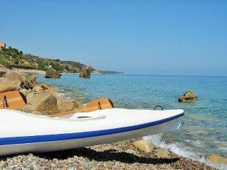 Villetta Fabiola a 50 Mt dal mare con spiaggia 'bandiera blu' privata