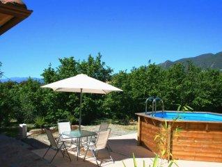 Maison avec piscine privative 5km de la plage