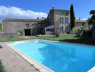 Beautiful House With Swimming-pool, Vineyards Views, Close to Canal Du Midi