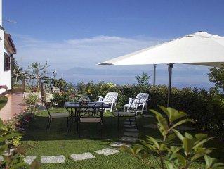 "Coast'Amalfi ""The Rose Garden"". Wonderful Sea View Parking Garden!"