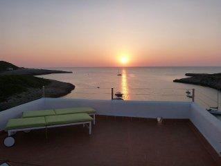 Appartement in Portinatx met schitterend zeezicht! Best sunset of IBiza!