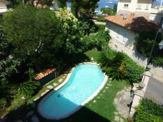 Heart Of Saint Jean Cap Ferrat Heated Pool Terrace Garden