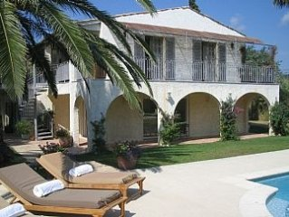Beautiful Villa Close To Pampelonne Beach With Private Pool And Stunning Gardens
