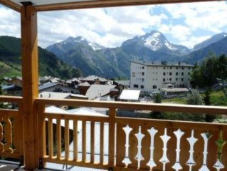 Appartement très agréable avec 2 balcons dans un immeuble de standing au pied de