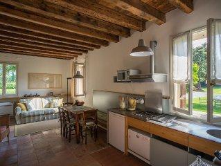 Villa Tron. Appartamento Mezà con parco lungo la Riviera del Brenta. Venezia