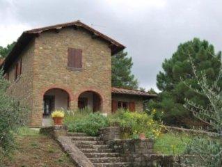 Bella villa di collina con splendida vista e parco