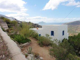 Aigiali: île du Grand Bleu, belle maison cycladique
