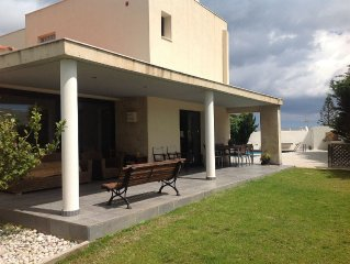 Luxury villa with private pool, fantastic outdoor entertaining space and short w
