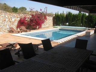 Luxury villa in quiet resort with private 10mx5m pool ideal for relaxing holiday