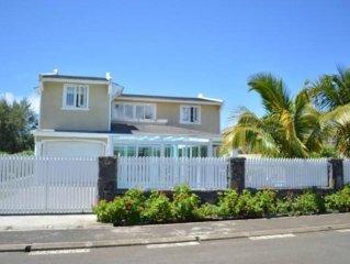 Villa luxe pres de la plage avec Piscine prive a Blue Bay, Ile Maurice