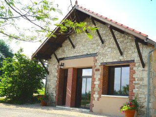 Luxurious & spacious cottage with private pool between Toulouse, Gaillac & Albi