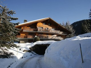 Ski in Ski out Chalet with Stunning Views