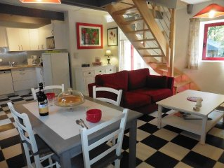 Petite maison pleine de charme, idéale pour 2 personnes classée 3*