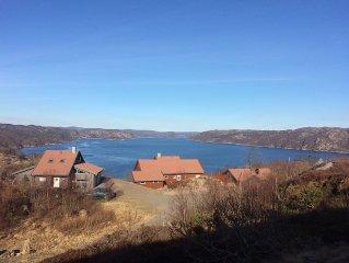 Holiday house with panoramic views at Korshamn. Good fishing