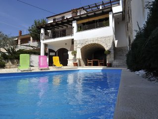 Villa Perinka con piscina e giardino - OFFERTA AGOSTO
