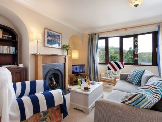 Bow Cottage | Sleeps 4, Parking, Pets Welcome, Enclosed Garden, Water Views