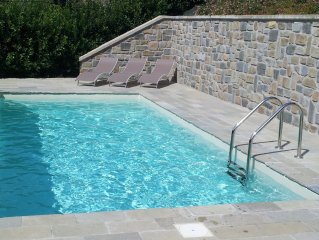 STONE HOUSE COMPLETELY RENOVATED AND POOL USE ONLY IN TUSCANY