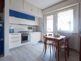 Appartamento, ultimo piano con terrazzo in centro