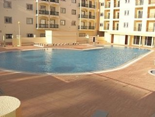 Spacious new well equipped 3 Bedroom Apartment close to Montegordo town & beach