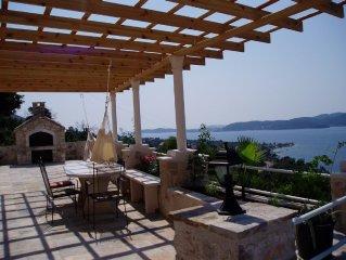Restored 350 year old Villa, stunning views, idyllic location, comfort, large po