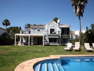 Maravillosa villa Guadalmina baja